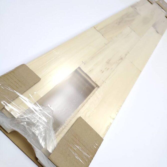 Стеновой паркет из липы, упаковка